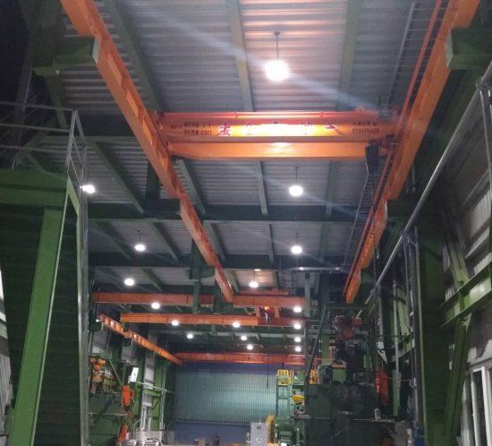 廠房採用拓普LED照明工程案例
